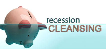 RECESSIONS CLEANSING EFFECT